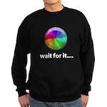 Wait For It Sweatshirt (dark)