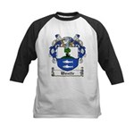 Woulfe Family Crest Kids Baseball Jersey
