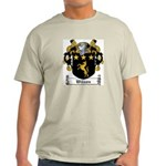 Wilson Coat of Arms Ash Grey T-Shirt