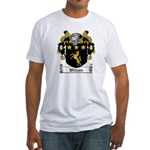 Wilson Coat of Arms Fitted T-Shirt