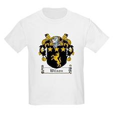 Wilson Coat of Arms Kids T-Shirt