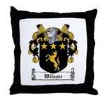 Wilson Coat of Arms Throw Pillow