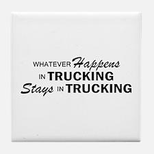 Whatever Happens - Trucking Tile Coaster