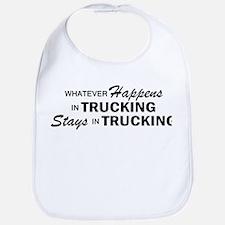 Whatever Happens - Trucking Bib