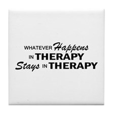 Whatever Happens - Therapy Tile Coaster
