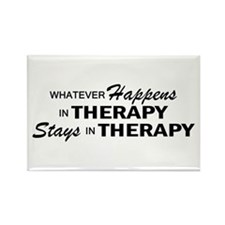 Whatever Happens - Therapy Rectangle Magnet
