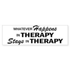 Whatever Happens - Therapy Bumper Bumper Sticker