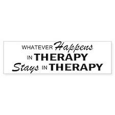 Whatever Happens - Therapy Bumper Sticker