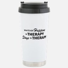 Whatever Happens - Therapy Travel Mug
