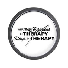 Whatever Happens - Therapy Wall Clock