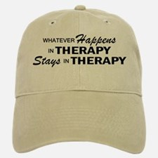 Whatever Happens - Therapy Baseball Baseball Cap