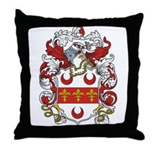 Oakley Coat of Arms Throw Pillow