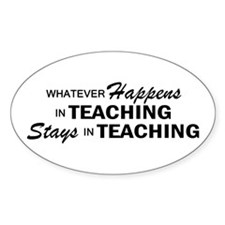 Whatever Happens - Teaching Decal