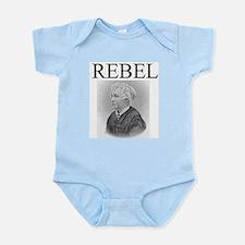 Elizabeth Cady Stanton Infant Bodysuit