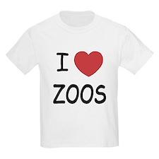 I heart zoos T-Shirt