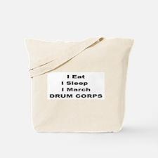 Funny Eat sleep drum Tote Bag