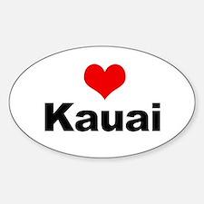 Kauai Sticker (Oval)