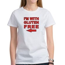 I'm With Gluten-Free Tee