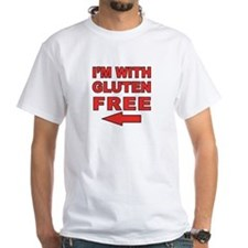 I'm With Gluten-Free Shirt