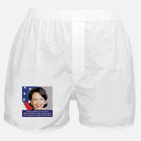 Condoleezza Rice Boxer Shorts