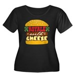 Royale With Cheese Women's Plus Size Scoop Neck Da
