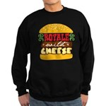 Royale With Cheese Sweatshirt (dark)