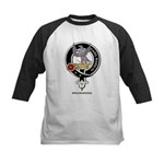 Drummond Clan Crest / Badge Kids Baseball Jersey