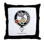 Drummond Clan Crest / Badge Throw Pillow