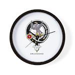 Drummond Clan Crest / Badge Wall Clock
