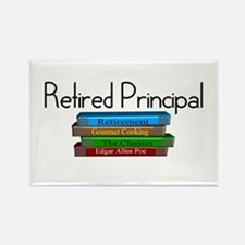 Retired Teacher II Rectangle Magnet