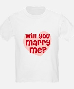 Will You Marry Me? Kids T-Shirt