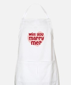 Will You Marry Me? BBQ Apron