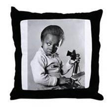 Cute Child actor Throw Pillow