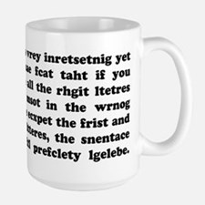 The Mucking Fuddled Large Mug