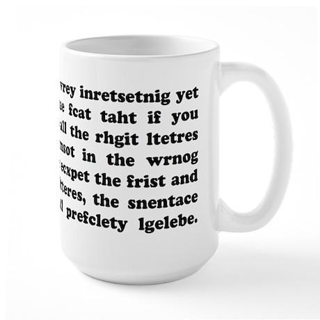The Mucking Fuddled Large Mug