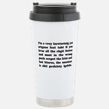 The Mucking Fuddled Travel Mug