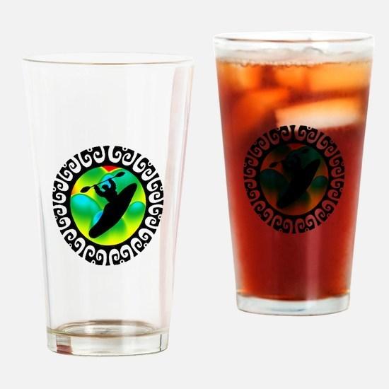 FULL THROTTLE Drinking Glass