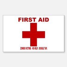 zombiefirstaid4 Decal