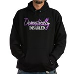 Domestically Disabled Hoodie (dark)