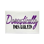 Domestically Disabled Rectangle Magnet