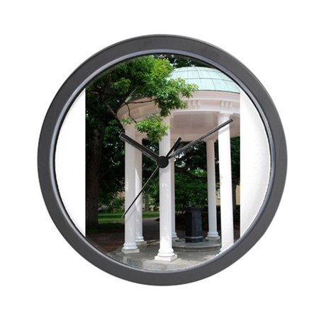 UNC Old Well Wall Clock