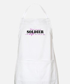Behind every good soldier/Mom Apron