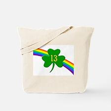 13th Shamrock Tote Bag