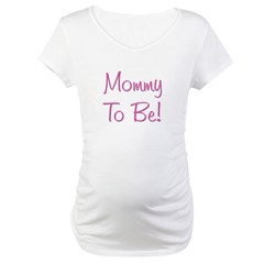 Mommy To Be - Pink Shirt