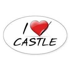 I Heart Castle Decal