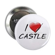 "I Heart Castle 2.25"" Button"