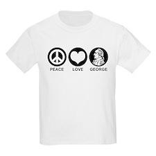 Peace Love George T-Shirt