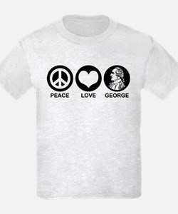 Peace Love George T-Shirt