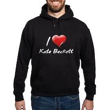 I Heart Kate Beckett Hoodie
