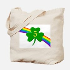 5th Shamrock Tote Bag